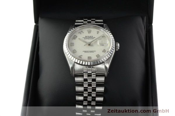 Used luxury watch Rolex Datejust steel automatic Kal. 3135 Ref. 16220  | 142330 07
