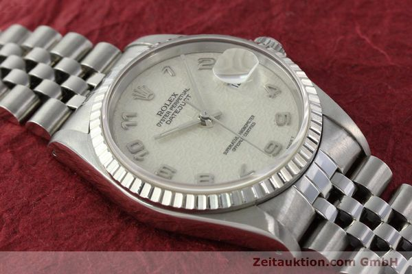 Used luxury watch Rolex Datejust steel automatic Kal. 3135 Ref. 16220  | 142330 14