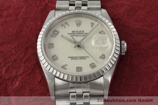 Used luxury watch Rolex Datejust steel automatic Kal. 3135 Ref. 16220  | 142330 15