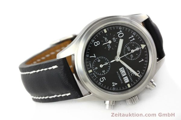 Used luxury watch IWC Fliegerchronograph chronograph steel automatic Kal. 7922 Ref. 3706  | 142331 03