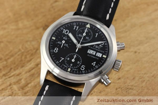 Used luxury watch IWC Fliegerchronograph chronograph steel automatic Kal. 7922 Ref. 3706  | 142331 04