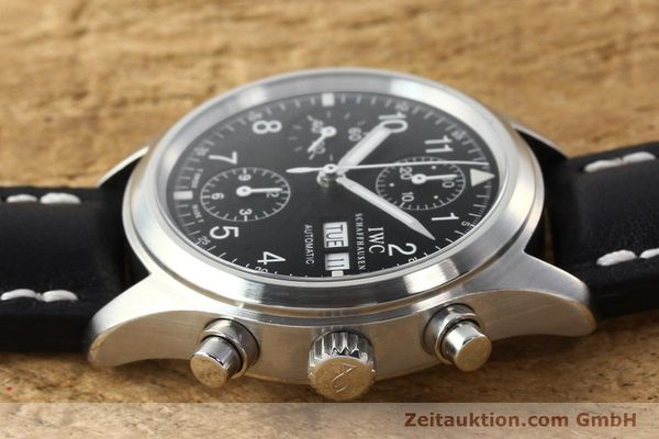 Used luxury watch IWC Fliegerchronograph chronograph steel automatic Kal. 7922 Ref. 3706  | 142331 05