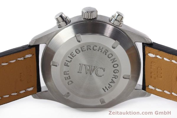 Used luxury watch IWC Fliegerchronograph chronograph steel automatic Kal. 7922 Ref. 3706  | 142331 08