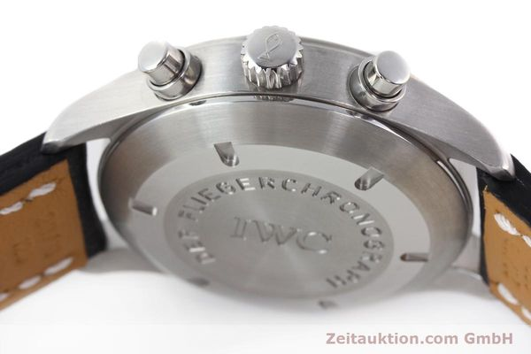 Used luxury watch IWC Fliegerchronograph chronograph steel automatic Kal. 7922 Ref. 3706  | 142331 11