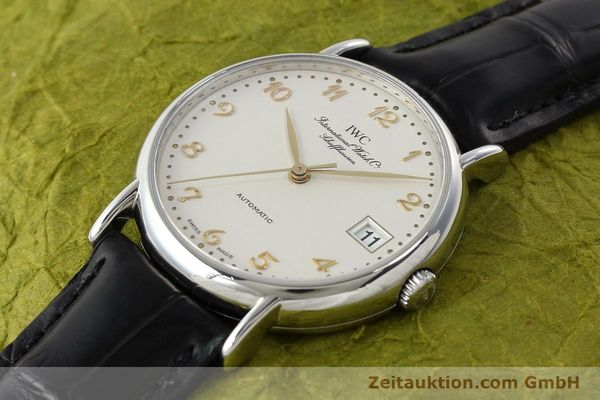 Used luxury watch IWC Portofino steel automatic Kal. 30120 Ref. 35131  | 142332 01
