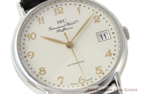 Used luxury watch IWC Portofino steel automatic Kal. 30120 Ref. 35131  | 142332 02