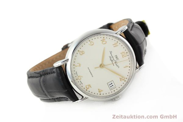 Used luxury watch IWC Portofino steel automatic Kal. 30120 Ref. 35131  | 142332 03