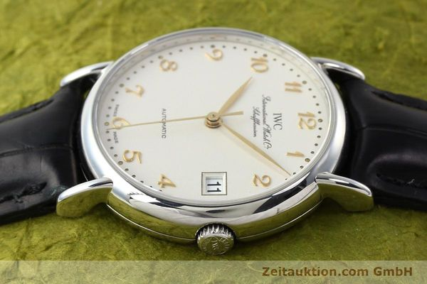 Used luxury watch IWC Portofino steel automatic Kal. 30120 Ref. 35131  | 142332 05