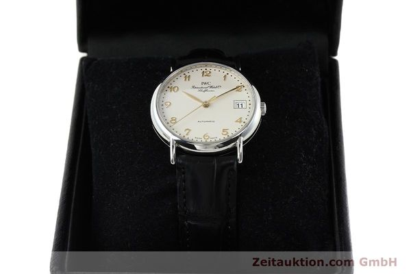 Used luxury watch IWC Portofino steel automatic Kal. 30120 Ref. 35131  | 142332 07