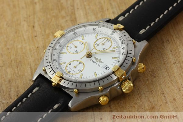 Used luxury watch Breitling Chronomat chronograph steel / gold automatic Kal. VAL 7750 Ref. 81950  | 142334 01