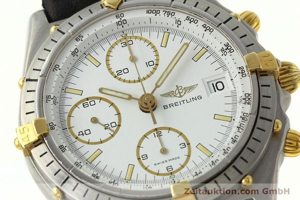 Used luxury watch Breitling Chronomat chronograph steel / gold automatic Kal. VAL 7750 Ref. 81950  | 142334 02