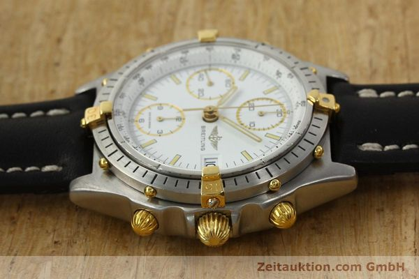 Used luxury watch Breitling Chronomat chronograph steel / gold automatic Kal. VAL 7750 Ref. 81950  | 142334 05