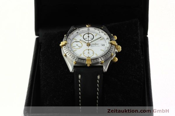 Used luxury watch Breitling Chronomat chronograph steel / gold automatic Kal. VAL 7750 Ref. 81950  | 142334 07