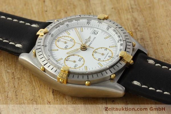Used luxury watch Breitling Chronomat chronograph steel / gold automatic Kal. VAL 7750 Ref. 81950  | 142334 14