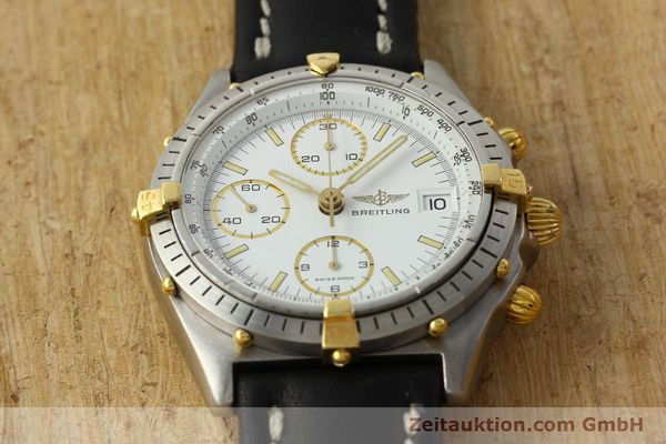 Used luxury watch Breitling Chronomat chronograph steel / gold automatic Kal. VAL 7750 Ref. 81950  | 142334 15