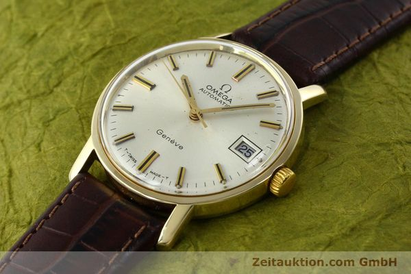 Used luxury watch Omega * 14 ct yellow gold automatic Kal. 565 Ref. 1211  | 142337 01