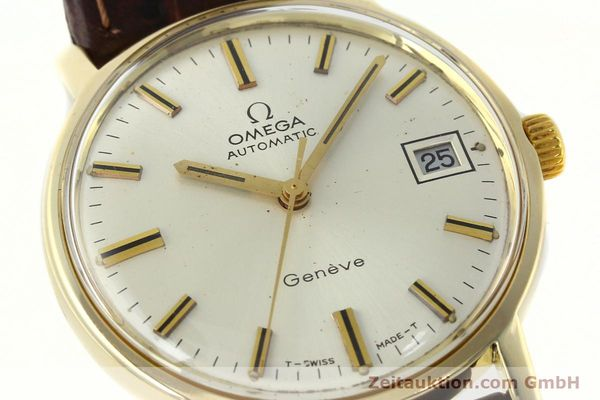 Used luxury watch Omega * 14 ct yellow gold automatic Kal. 565 Ref. 1211  | 142337 02
