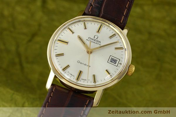 Used luxury watch Omega * 14 ct yellow gold automatic Kal. 565 Ref. 1211  | 142337 04