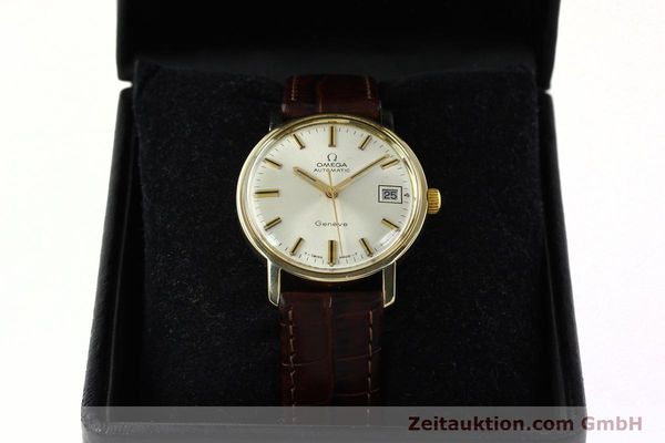 Used luxury watch Omega * 14 ct yellow gold automatic Kal. 565 Ref. 1211  | 142337 07