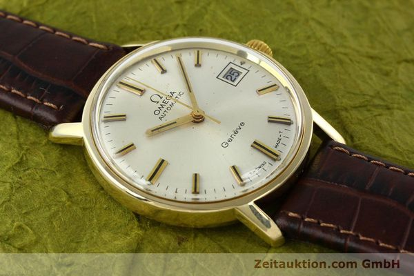 Used luxury watch Omega * 14 ct yellow gold automatic Kal. 565 Ref. 1211  | 142337 13