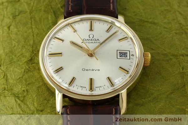 Used luxury watch Omega * 14 ct yellow gold automatic Kal. 565 Ref. 1211  | 142337 14