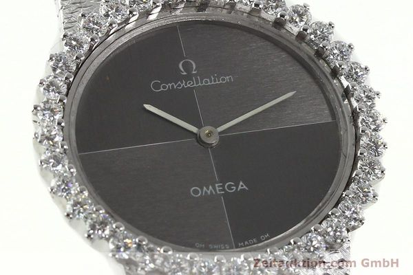 reloj de lujo usados Omega Constellation oro blanco de 18 quilates cuerda manual Kal. 700  | 142339 02