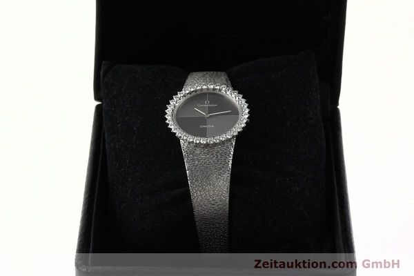 Used luxury watch Omega Constellation 18 ct white gold manual winding Kal. 700  | 142339 07