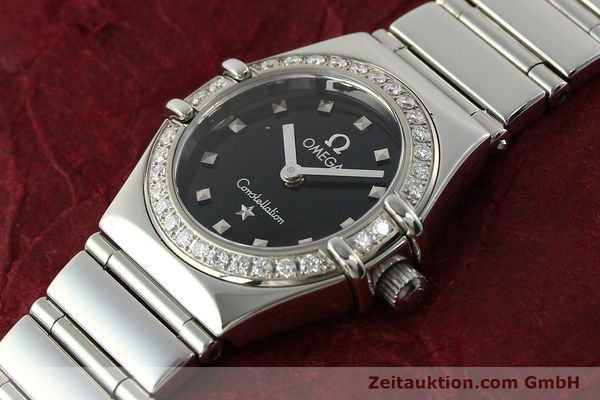 Used luxury watch Omega Constellation steel quartz Kal. 1456  | 142340 01