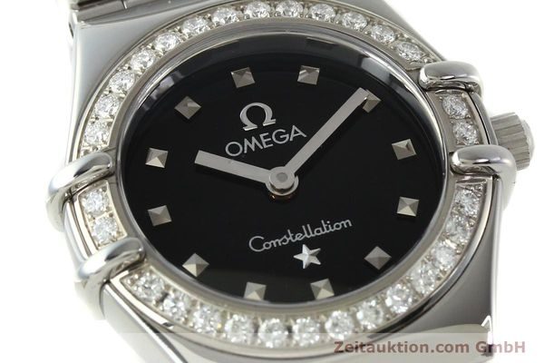 Used luxury watch Omega Constellation steel quartz Kal. 1456  | 142340 02