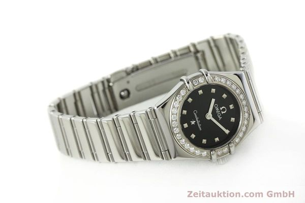 Used luxury watch Omega Constellation steel quartz Kal. 1456  | 142340 03