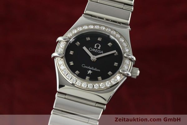 Used luxury watch Omega Constellation steel quartz Kal. 1456  | 142340 04