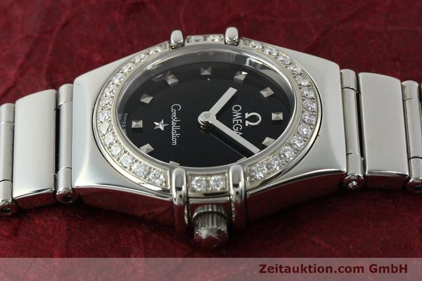 Used luxury watch Omega Constellation steel quartz Kal. 1456  | 142340 05