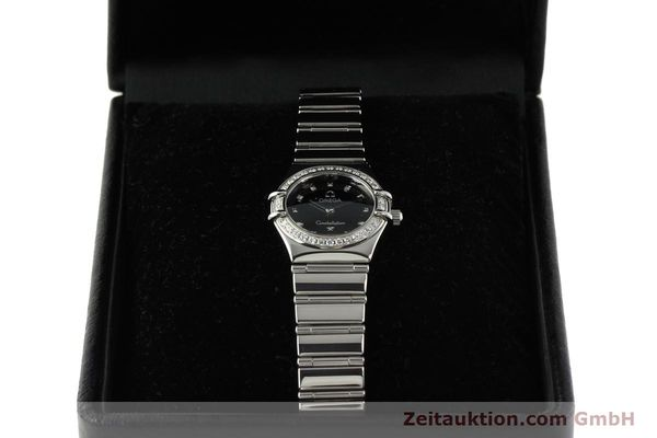 Used luxury watch Omega Constellation steel quartz Kal. 1456  | 142340 07