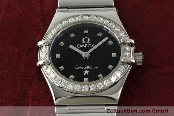 Used luxury watch Omega Constellation steel quartz Kal. 1456  | 142340 14