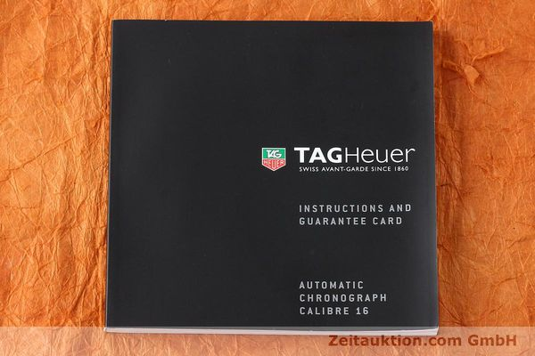 Used luxury watch Tag Heuer Carrera chronograph steel automatic Kal. 16 ETA 7750 Ref. CV2013-3  | 142341 08