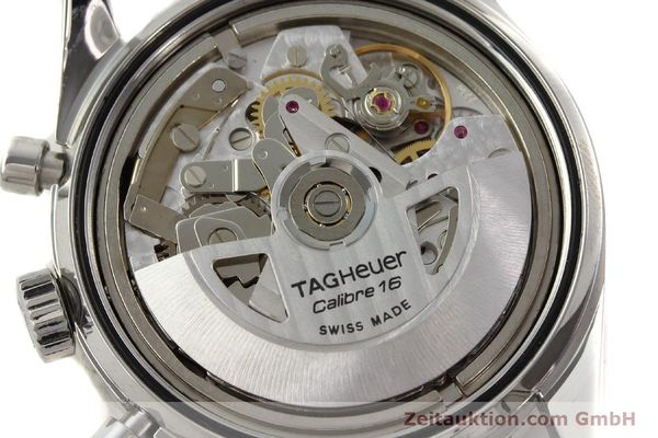 Used luxury watch Tag Heuer Carrera chronograph steel automatic Kal. 16 ETA 7750 Ref. CV2013-3  | 142341 10