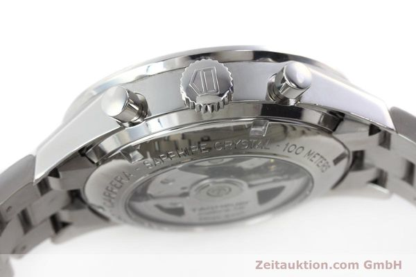 Used luxury watch Tag Heuer Carrera chronograph steel automatic Kal. 16 ETA 7750 Ref. CV2013-3  | 142341 11