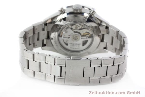 Used luxury watch Tag Heuer Carrera chronograph steel automatic Kal. 16 ETA 7750 Ref. CV2013-3  | 142341 12