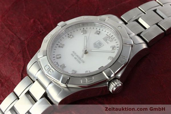 Used luxury watch Tag Heuer Aquaracer steel quartz Kal. ETA F06.111 Ref. WAF1312  | 142342 01