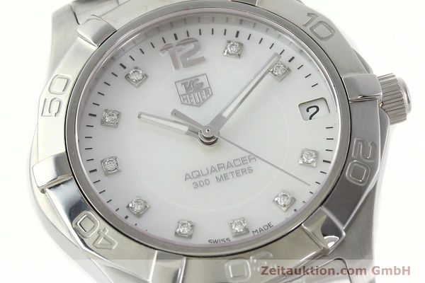 Used luxury watch Tag Heuer Aquaracer steel quartz Kal. ETA F06.111 Ref. WAF1312  | 142342 02
