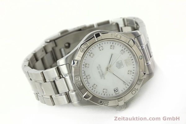 Used luxury watch Tag Heuer Aquaracer steel quartz Kal. ETA F06.111 Ref. WAF1312  | 142342 03