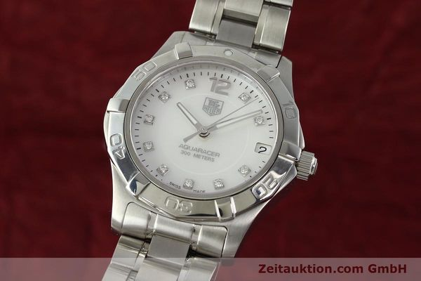 Used luxury watch Tag Heuer Aquaracer steel quartz Kal. ETA F06.111 Ref. WAF1312  | 142342 04