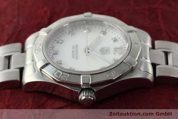 Used luxury watch Tag Heuer Aquaracer steel quartz Kal. ETA F06.111 Ref. WAF1312  | 142342 05