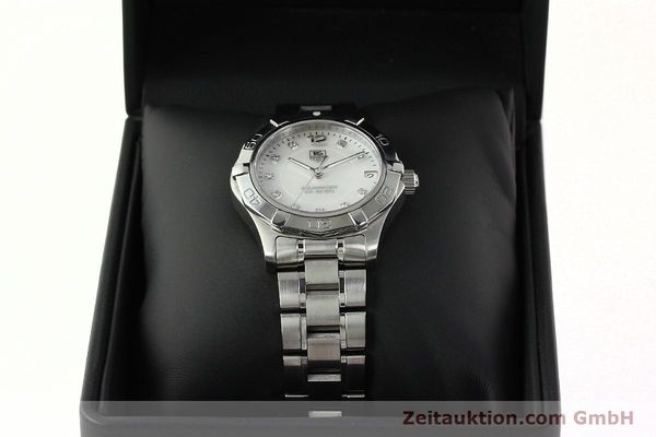 Used luxury watch Tag Heuer Aquaracer steel quartz Kal. ETA F06.111 Ref. WAF1312  | 142342 07