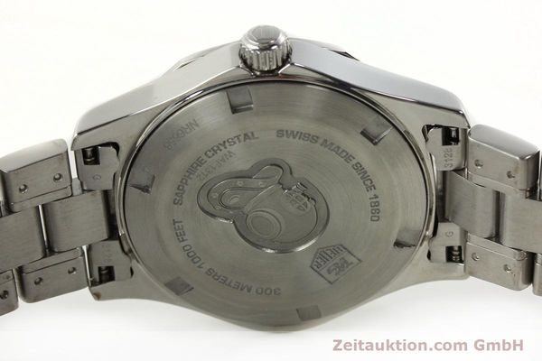 Used luxury watch Tag Heuer Aquaracer steel quartz Kal. ETA F06.111 Ref. WAF1312  | 142342 09