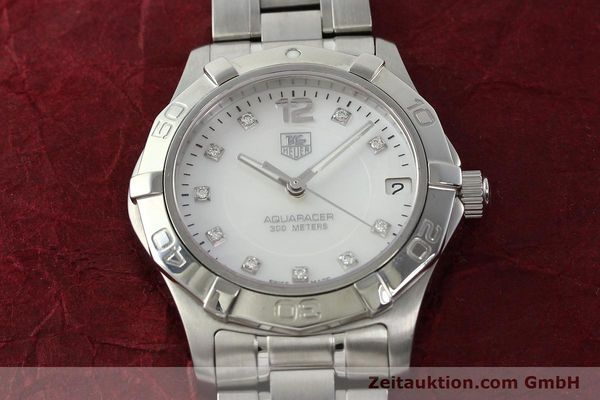 Used luxury watch Tag Heuer Aquaracer steel quartz Kal. ETA F06.111 Ref. WAF1312  | 142342 15