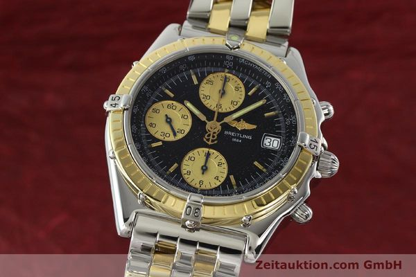 Used luxury watch Breitling Chronomat chronograph steel / gold automatic Kal. B13 ETA 7750 Ref. D13050.1  | 142344 04