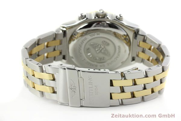 Used luxury watch Breitling Chronomat chronograph steel / gold automatic Kal. B13 ETA 7750 Ref. D13050.1  | 142344 12
