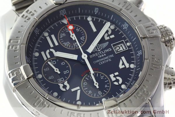 Used luxury watch Breitling Avenger chronograph steel automatic Kal. B13 ETA 7750 Ref. A13380  | 142345 02