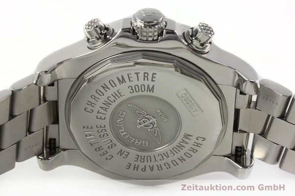 Used luxury watch Breitling Avenger chronograph steel automatic Kal. B13 ETA 7750 Ref. A13380  | 142345 09